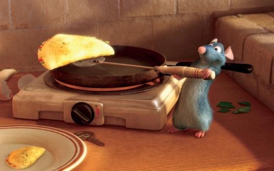 ratatouille omelette