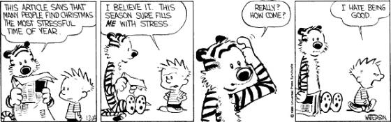 calvin stressed